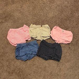 Baby/toddler girl shorts bundle